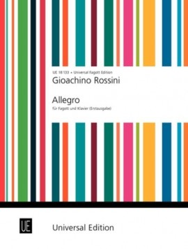 Rossini: Allegro for Bassoon published by Universal