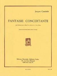 Castèréde: Fantaisie Concertante for Tuba or Bass Trombone published by Leduc