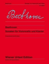 Beethoven: Sonatas for Cello published by Wiener Urtext