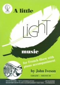 A Little Light Music for French Horn published by Brasswind