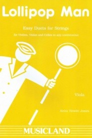 Lollipop Man for 2 Violas published by Musicland