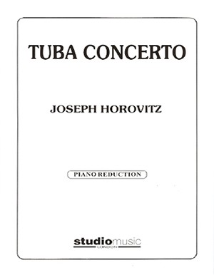 Concerto for Tuba by Horovitz published by Studio