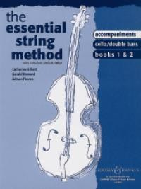 Essential String Method 1 & 2 Piano Accompaniments for Cello & Double Bass published by Boosey & Hawkes