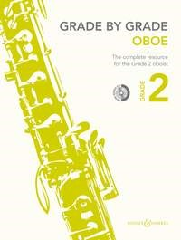 Grade by Grade for Oboe - Grade 2 - Book & CD published by Boosey & Hawkes