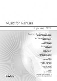 Music For Manuals - Joyful Music Set 2 published by Mayhew