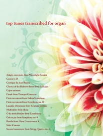 Top Tunes Transcribed for Organ published by Mayhew