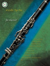 Celtic Top Ten for Clarinet Book & CD published by Kevin Mayhew