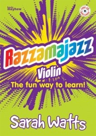 Razzamajazz 1 for Violin  Book & CD published by Kevin Mayhew