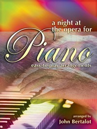 A Night at the Opera for Easy Piano published by Mayhew