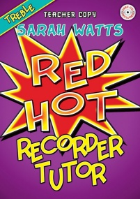 Red Hot Treble Recorder Tutor Teacher Book & CD published by Mayhew