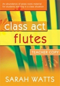 Class Act Flute - Teacher Book published by Mayhew