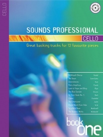 Sounds Professional Book & CD for Cello published by Mayhew