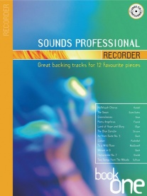 Sounds Professional for Recorder Book & CD published by Mayhew