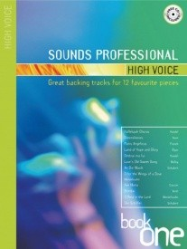 Sounds Professional - High Voice - Book & CD published by Mayhew