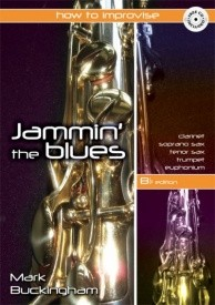 Buckingham: Jamming the Blues - Bb Edition published by Mayhew (Book & CD)