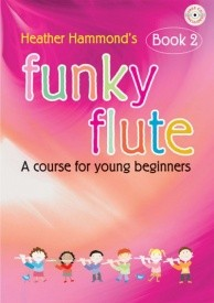 Funky Flute 2 Students Book and CD published by Kevin Mayhew