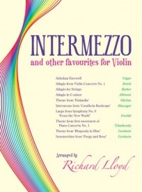 Intermezzo and Other Favourites for Violin published by Mayhew