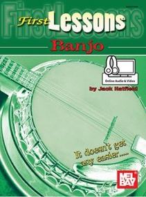 First Lessons for the Banjo published by Mel Bay (Book/Online Audio)