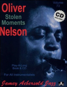 Aebersold 73 Stolen Moments Book & CD for All Instruments