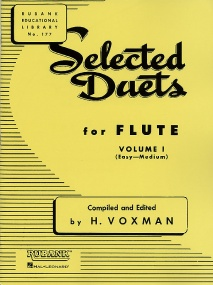 Selected Duets Volume 1 for Flute published by Rubank