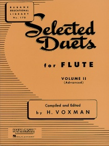 Selected Duets Volume 2 for Flute published by Rubank
