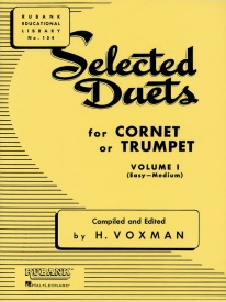 Selected Duets Volume 1 for Trumpet or Cornet published by Rubank