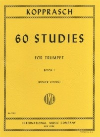 Kopprasch: 60 Studies Book 1 for Trumpet published by IMC