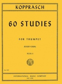 Kopprasch: 60 Studies Book 2 for Trumpet published by IMC