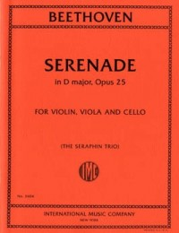 Beethoven: Serenade in D Major Opus 25 (The Seraphin Trio) published by IMC