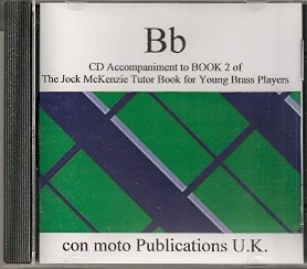 Jock McKenzie Tutor Book 2 Bb (CD Accompaniment) published by Mostyn