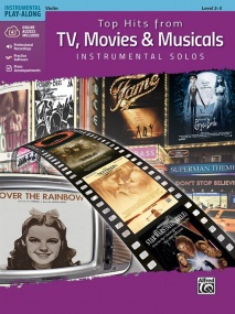 Top Hits from TV, Movies & Musicals Instrumental Solos for Violin published by Alfred