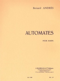 Andrès: Automates for Harp published by Hamelle