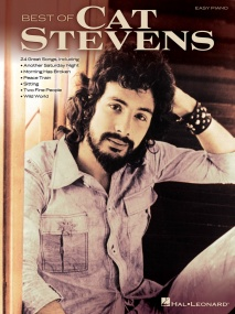 Best Of Cat Stevens for Easy Piano published by Hal Leonard