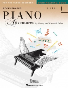 Accelerated Piano Adventures: Sightreading - Book 1