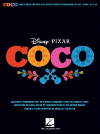 Disney Pixar's Coco published by Hal Leonard