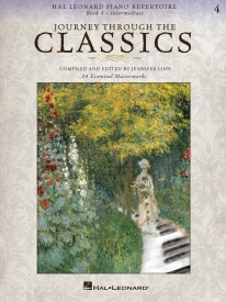 Journey Through the Classics: Book 4 for Piano published by Hal Leonard