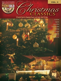 Beginning Piano Solo Play-Along Volume 5: Christmas Classics published by Hal Leonard