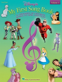 Disney My First Songbook Volume 4 for Easy Piano published by Hal Leonard