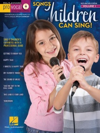 Pro Vocal Volume 1: Songs Children Can Sing! Book & CD published by Hal Leonard