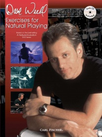 Excercises For Natural Playing Book & CD by Weckl published by Carl Fischer