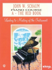 Schaum Piano Course Book A (Red) published by Alfred