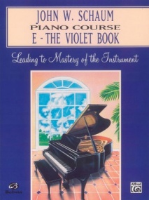 Schaum Piano Course Book E (Violet) published by Alfred