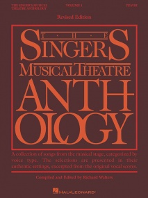 Singers Musical Theatre Anthology 1 Tenor published by Hal Leonard