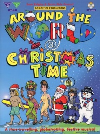 Around The World At Christmas Time Book & CD published by IMP