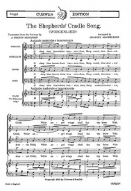 The Shepherds' Cradle Song SATB by Macpherson published by Curwen
