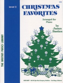Bastien Christmas Favorites Level 2 for Piano published by KJOS