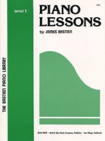 Bastien Piano Library: Piano Lessons Level 3
