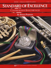 Standard of Excellence 1 for Drums And Mallet Percussion published by KJOS