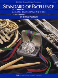 Standard of Excellence 2 for Drums And Mallet Percussion published by KJOS