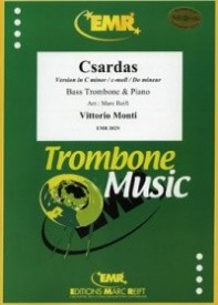 Monti: Czardas for Bass Trombone published by EMR